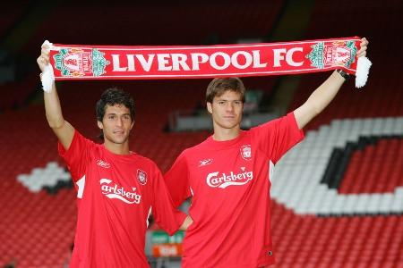 On this day in 2004, #LFC signed @XabiAlonso & @LuchoGarcia14. #legends # http://t.co/UjXoxxC3ak