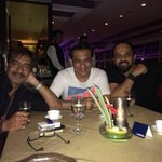 Da 100-crore club trio celebratin ze success of #SinghamReturns @ParagDesai @ajaydevgn & #RohitShetty Congratulations http://t.co/38sGfpoPg8