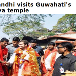 RT @nationalizer: Rahul Gandhi worships Goddess at Kamakhya temple, Does the same Rahul Gandhi molest women in Buses ? Just asking. http://t.co/ybNNGbdXBS