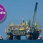 BP start installing Oil Platforms on ClairRidge. Scotland is a Nation that gives our wealth to England. VOTE #YES http://t.co/LfRUE1Th8M