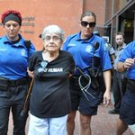 RT @BuzzFeed: A 90-year-old Holocaust survivor was arrested during a #Ferguson http://t.co/1eMF2KiI8Q http://t.co/f5CJGqZojd