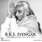 RT @INCIndia: We mourn the demise of Yogacharya BKS Iyengar and offer our condolences to his family and followers. http://t.co/Nx7g0sVIOx