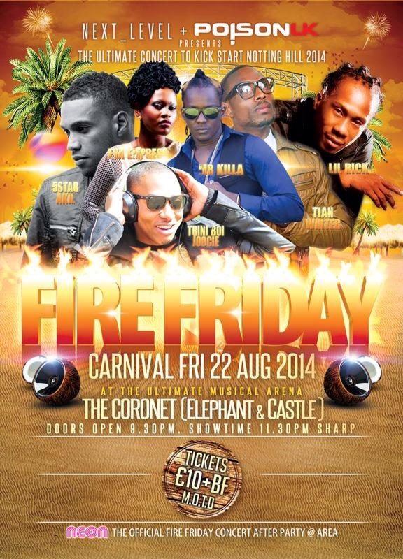 Have you got your ticket for #FireFete tickets go up today don't delay @PoisonUK @Dy_Ent @UKSocaScene #NottingHill http://t.co/QoXjZxH5h9