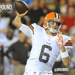 RT @SportsTimeOhio: RT @Browns BREAKING: Brian Hoyer to lead Browns, named starting quarterback. http://t.co/BN8YcexE5f
