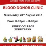 RT @TowerHotel: @Giveblood_ie TODAY in #Waterford http://t.co/UVR7APp50n