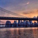 RT @NewYorkHabitat: Morning #NYC! A great shot of the #Manhattan #skyline to start the day via @RickBudo http://t.co/3ONYsqQ1bN