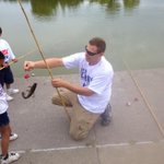Success at the @uwbec #doc14 ! #catchoftheday @nationalgridus #volunteer http://t.co/9ZxKbhq3A4