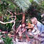 RT @VanDusenGdn: @FriendofBloedel Agnes and @dawnchubai Breakfast for the birds @bt_vancouver #bloedelconservatory http://t.co/axZnyXI0Xs