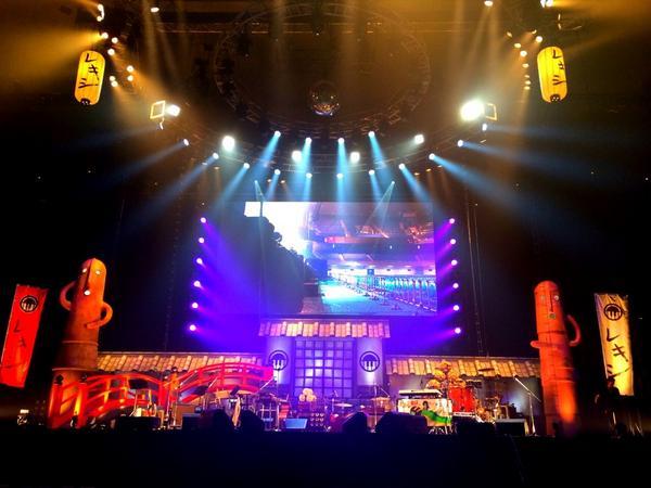 """レキシat""""日本武道館""""無事終演。 ツアーの集大成どころか 池ちゃんの人生の集大成のようなライヴでした。 あぁ、泣けた。笑った。 http://t.co/oJXV8iEayN"""