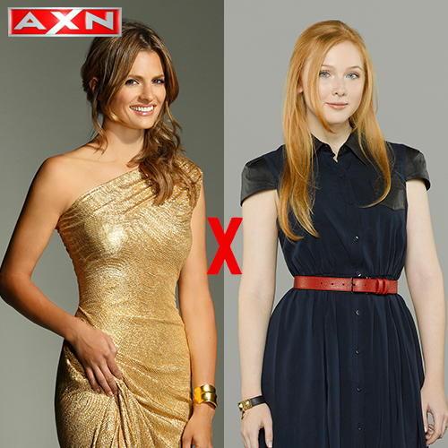 Duelo Castle! Kate (RT) X Alexis (Favorito) Qual é a sua personagem predileta? #CastleAXN http://t.co/zD4MTLAjso
