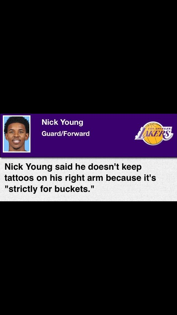 #SwaggyForever RT @CiscoNOChains This just might be the best sports quote of all-time http://t.co/6YzsTZK6dO