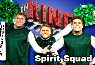 On Sept 19 in Easton, Kenny, Mikey & Johnny begin the quest to make The Spirit Squad the #KOT14 champions! http://t.co/z0EH1yk2hX