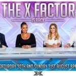 STOP WHAT YOURE DOING & GO BONKERS!!! The X Factor returns Saturday 30th & Sunday 31st August at 8pm. #XFactor http://t.co/VtGbEe53Ls