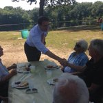RT @MikeLake4MA: Its a beautiful day for meeting voters at Wilbrahams Senior Picnic. #ILikeLake #mapoli #malg http://t.co/8COqd5qusw