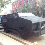 SWAT team performs training exercise including mine-resistant vehicle in downtown Ann Arbor http://t.co/QHsVLgPHq8 http://t.co/NzQXWtSt7N