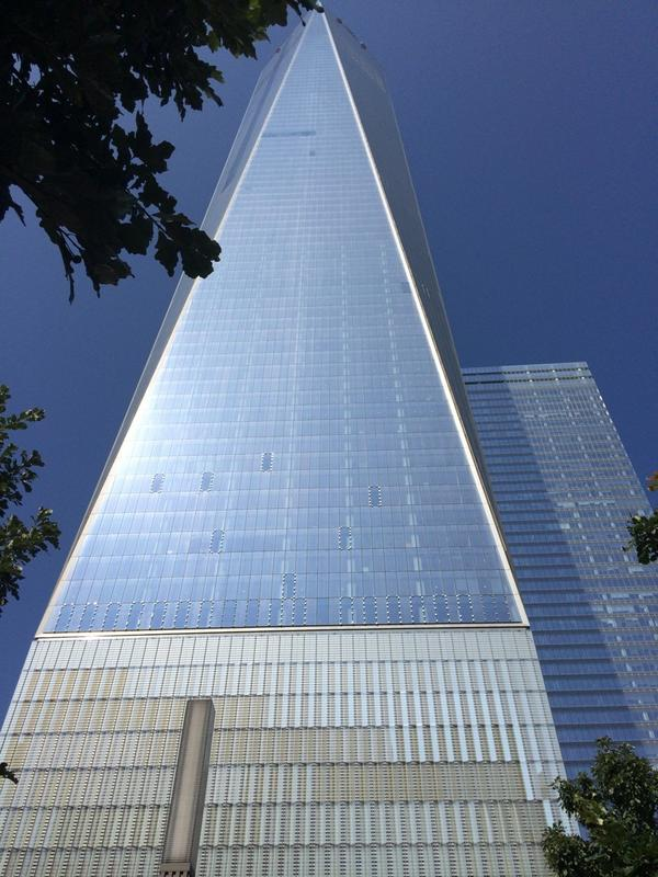 Had an amazing time visiting the 9/11 museum today. Unforgettable experience http://t.co/korRjWf0NN