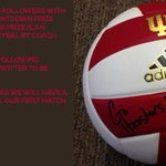 Here.We.Go. RT this for a chance to win an autographed volleyball by @IUCoachDunbar #IUVB40 #GoIU http://t.co/g7qj68jiti