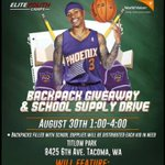 RT @Isaiah_Thomas2: #Tacoma Come support my 4th annual backpack giveaway Today 1-4pm @ Titlow Park... http://t.co/Vpu5q2i8uv