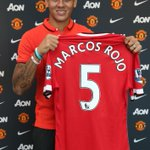 Marcos Rojo will wear the no.5 shirt for Manchester United. #RojoIsRed http://t.co/56UtTMvRlU