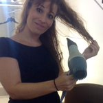 RT @KellyFranson: Thx to @MaureenOBoyle for the use of her hair dryer - trying to fix this mess b4 @WBTV_News at 4! #IceBucketChallenge http://t.co/fP86GcWnst