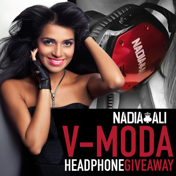 I'm giving away a pair of Custom Nadia Ali @VMODA headphones! Retweet to win. I'll announce a winner at 7pm tmrw! http://t.co/SFpSNeQeHk