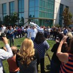 RT @jameshom1: Just an #IceBucket for ALS? @NetApp CEO Tom Georgens gets hit w/a whole cooler. #ALSIceBucketChallenge #NetAppCulture http://t.co/rBu8OUXdht