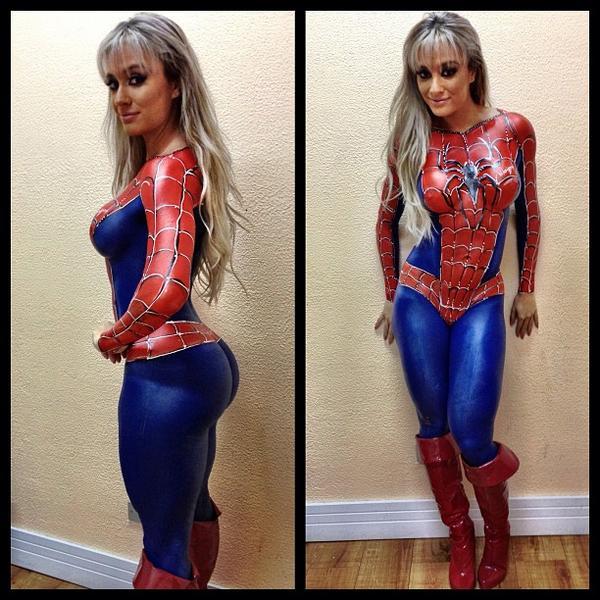 Spider-Man par Juju Salimeni :3 #marvel #cosplay #spiderman http://t.co/CNia403Ump