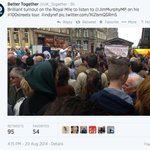 RT @WeAreNational: .@UK_Together pretending that @edfringe crowd turned up today to see Jim Murphy MP. Sheer comedy gold. #IndyRef http://t.co/u5APy5Q2n1
