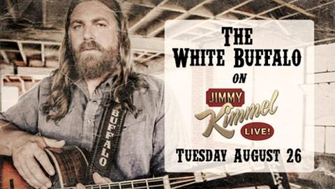 TUNE IN to see me make my late night debut on @JimmyKimmel on Tuesday, August 26th!! #kimmel #thewhitebuffalo http://t.co/N74L9rmz5I