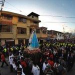#Loja se alegra con tu presencia Virgen Santísima del Cisne! @elcomerciocom http://t.co/A6wF2BdLJB
