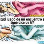 RT @elcomerciocom: #HablandoDeSexo Actitudes a evitar luego de un encuentro sexual » http://t.co/R6sajMdmrM http://t.co/e0vs8LUTwf