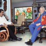Fidel Castro recibió ayer visita de Nicolás Maduro ► http://t.co/nCpt8bgPVi http://t.co/CeXojP49Fv
