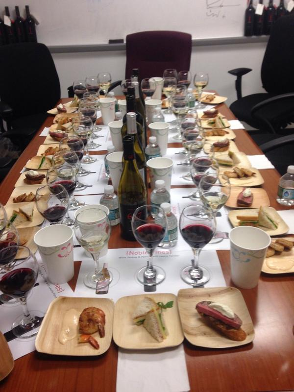 Know what the world needs? More #wine in the board room! #teambuilding #noblevines http://t.co/1BRyS6gZuy