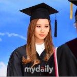 RT @kor_celebrities: 少女時代 ソヒョン、卒業。ソヒョンはが21日、東国大学の学位授与式に出席し、功労賞を受賞した。 http://t.co/6aNN3C6JnG