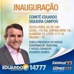 RT @GeizeStella: Convite! Inauguração do Comitê do Candidato a Dep Estadual @eduscampos14777. Eduardo conta c/ a sua presença! ???? http://t.co/vG8Y4CKKD6