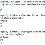RT @18SEPT2014: Jim Murphys soapbox times tomorrow. #Wishaw #Carluke #Blantyre #indyref http://t.co/JNW2v4RhXv