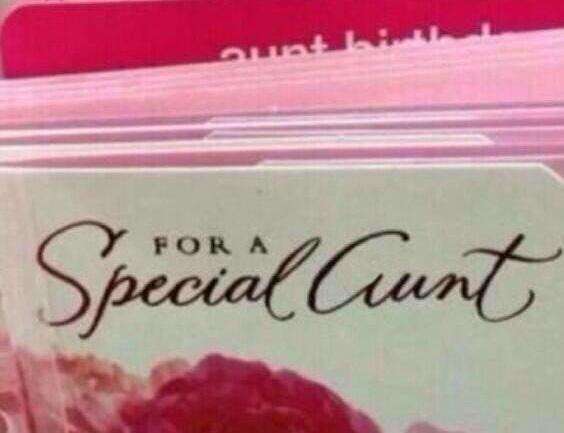 Hey Hallmark, you might want to change the font on this card. http://t.co/myDiPpfnuD
