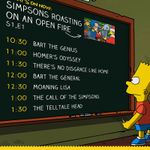 RT @EverySimpsons: #EverySimpsonsEver is kicking off NOW! Check out what youre in for from 10am-2pm EST. http://t.co/tSSrie5z3r
