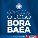 RT @ecbahia: Bola já está rolando para Bahia x Criciúma na Fonte. BBMP! http://t.co/qmF4NZdUlT