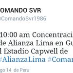 Mañana habran 600 hinchas de Alianza Lima en el monumental de Barcelona SC, todos de Alianza Lima... Si claro... http://t.co/CXr7HRx20f
