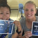 RT @SeattleReignFC: Naho & Kim Little are signing auotgraphs at tonights @SoundersFC match. Stop by Sec. 141, inside the NW entrance. http://t.co/Zob9gLEAWJ