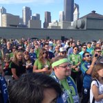 The crowd at GeekWire Sounders Day listens to Sounders GM Adrian Hanauer. Great stuff. http://t.co/EhRjTAXzIg