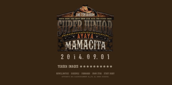 SJ official site update with #MAMACITA !!! http://t.co/c7m7QrMXxp