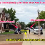 RT @JuddLegum: Police say Powell was 3 to 4ft away from officers when he was shot. Video looks different http://t.co/fmUzikrdT6 http://t.co/vtThJg0uMd