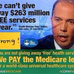 Someone Tell @JoeHockey ThatWeTaxpayersPay For #Medicare! It Is Not A Handout!! @ABCNews24 @joeobrien24 #auspol http://t.co/c4rIPPAROs