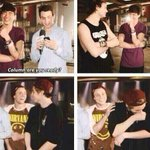 """remember when the interviewer called calum as """"column"""" damn their reactions still make us laugh ???? #vote5sos http://t.co/ymVjhx2uhw"""