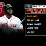 Sometimes, it feels as though Big Papi makes history every other night. http://t.co/a3hq9V6LSx