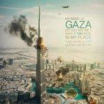 أنا إسمي #غزة هل تراني ؟! ماذا لو كنت مكاني ؟ #غزة http://t.co/y3dTRxGKRv
