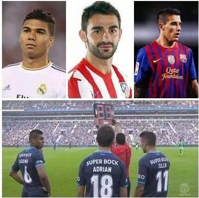 tres Ex rivales, tres futuros Crack's, OJO con este Porto f.c. http://t.co/2cVSGzbFVk