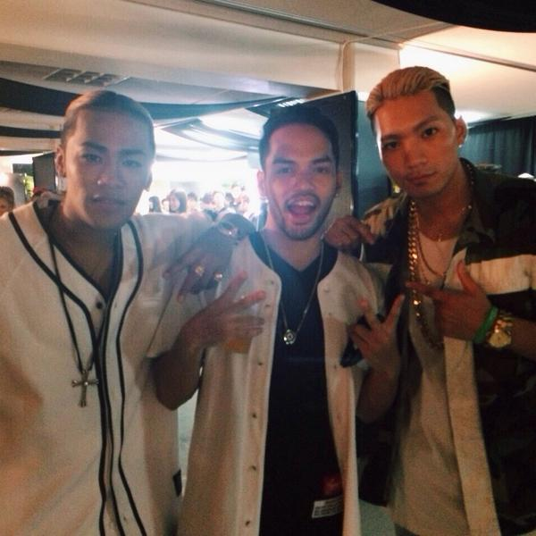 With the boys @sway_official @elly24soul #OTOMATSURI #anation #mflo #LDH http://t.co/PdszzOeH15